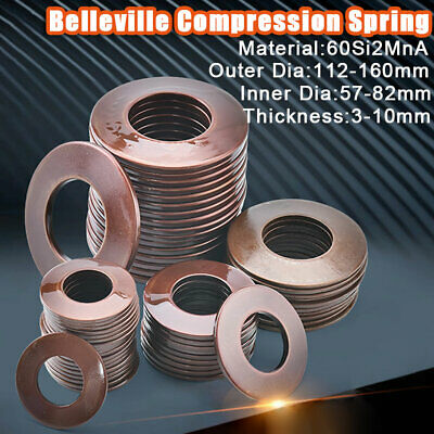 20pcs Belleville Compression spring washer disc spring 16*8.2*0.6mm New