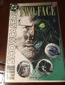 DC-Batman-Showcase-039-93-7-VF-Two-Face-039-93-7-Two-Face-Knightfall-PT-13-1st-PRT