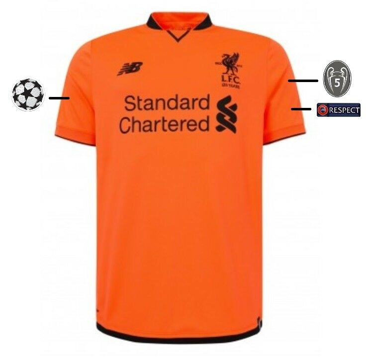 Trikot New Balance FC Liverpool 2017-2018 Third UCL  Champions League