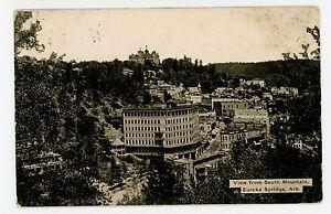 Eureka Springs from South Mountain—Antique ARKANSAS Gray ...