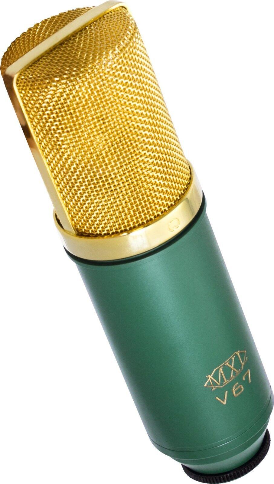 MXL V67G Micrófono de condensador de cápsula grande Top Quality By MXL Mics