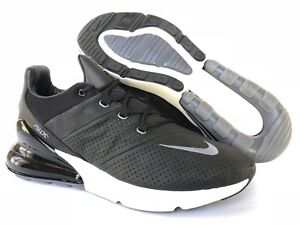 865166e81f NIKE SAMPLE AIR MAX 270 BLACK PREMIUM LEATHER [AO8283-001] US MEN SZ ...