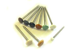 Fascia board 30mm or 40mm Poly top pins White//Black//Rosewood//Grey//Oak
