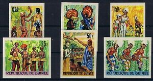 MotivéE Guinée Minr 396 - 401 B Coupé Sans Prix Cotation Tamponné ** Couleur Rapide
