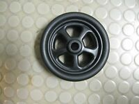Trailer Jack 6 Replacement Wheel Spare Black Poly