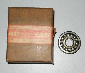 Water Pump Bearing FAG Brand Fits Borgward Isabella /& Isabella TS 1954-1961