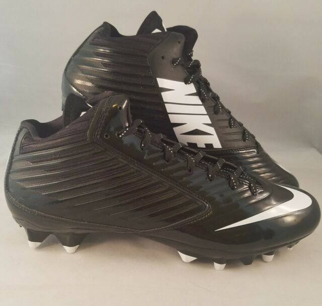 fa19ce077d68 Nike Vapor Speed 3 4 TD Football Cleats Men s Size 11.5 Black White 643155-