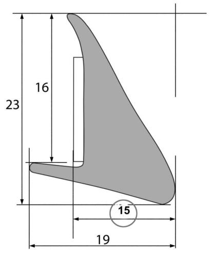 Kotflügelverbreiterung 15mm selbstklebend Pick up Geländewagen Van Verbreiterung