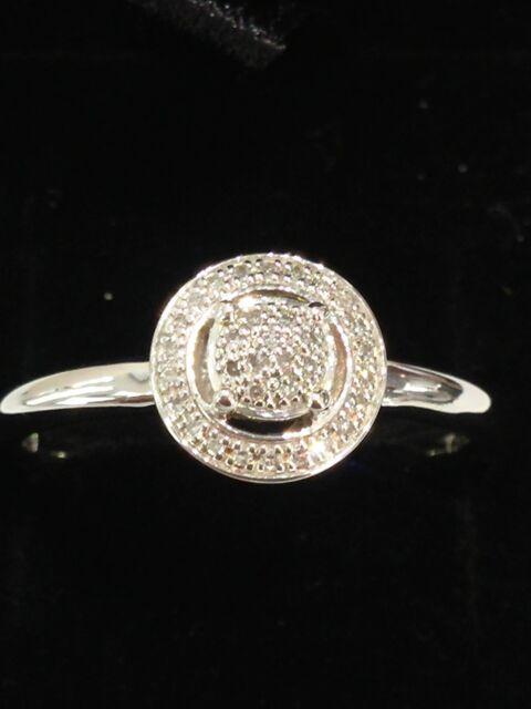 5c3b7b043ae New Genuine THOMAS SABO Diamond Ring D_TR0008.Size 56.Sterling Silver. RRP £