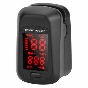 Fingertip Pulse Oximeter Blood Pressure Heart Rate Monitor SpO2 Oximetry Monitor