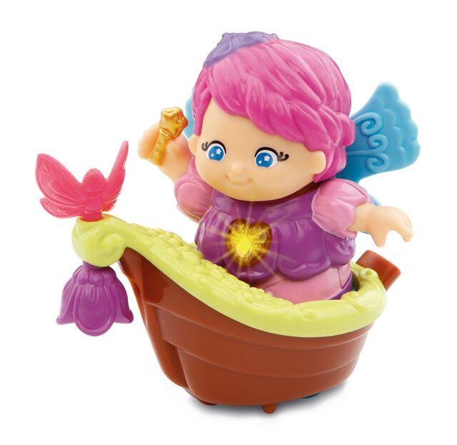 VTech Baby Kleine Kinder Entdeckerbande Fee Mila mit Boot Kinderspiel Spielzeug