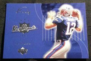 2003 TOM BRADY UPPER DECK PROS & PROSPECTS 3RD YEAR CARD #107 PATRIOTS GOAT