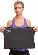 """Chattanooga ColPac Reusable Gel Ice Pack Cold Therapy (12.5""""x18.5"""") - Black"""