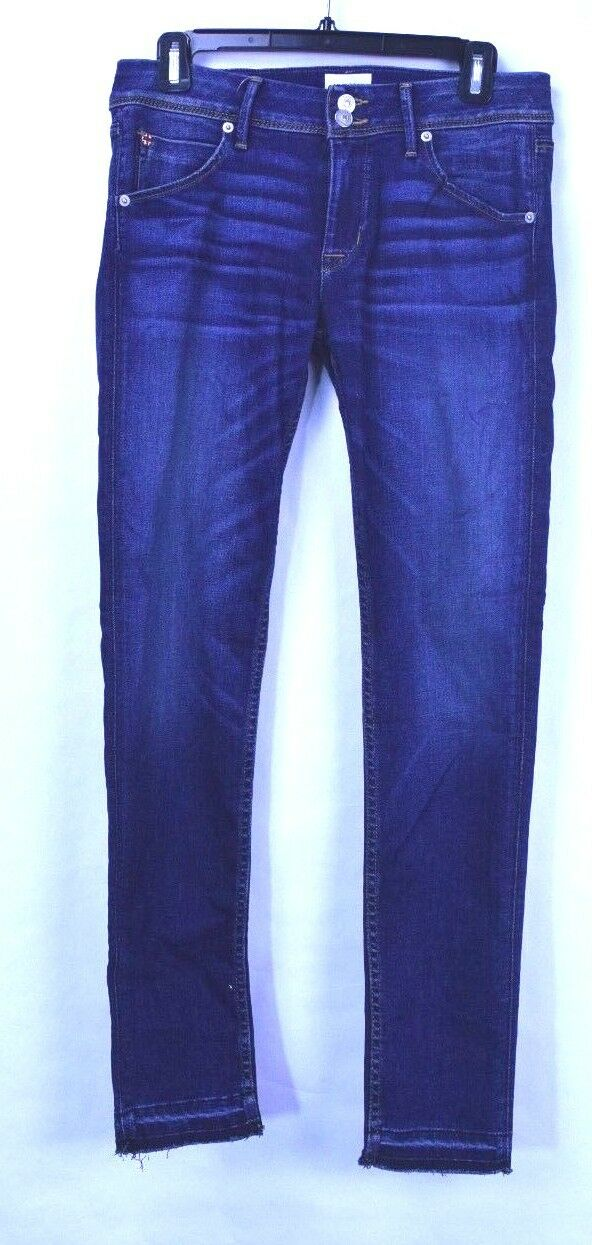 Hudson Women's Mid Rise Collin Super Stretch Skinny Jeans Size 28 New with Tags
