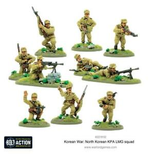 Nord-Coreen-Kpa-Lmg-Equipe-Bolt-Action-Warlord-Games