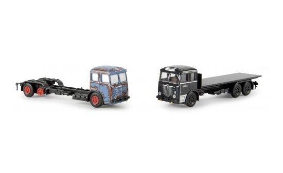 74612 - Brekina Set Büssing 12000  avant et après  avec 2 véhicules - 1 87