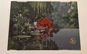 Walt Disney Animation TARZAN Baby Tantor HAND PAINTED LIMITED EDITION CEL #81/82