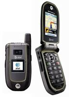 Unlocked At&t Motorola Tundra Va76r Rugged Flip Phone