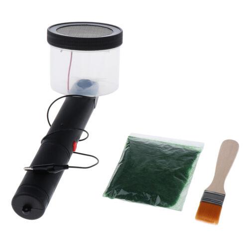 11,22Zoll Tragbarer Grasbeflockungsmaschinen-Applikator Electrostatic Kit Model