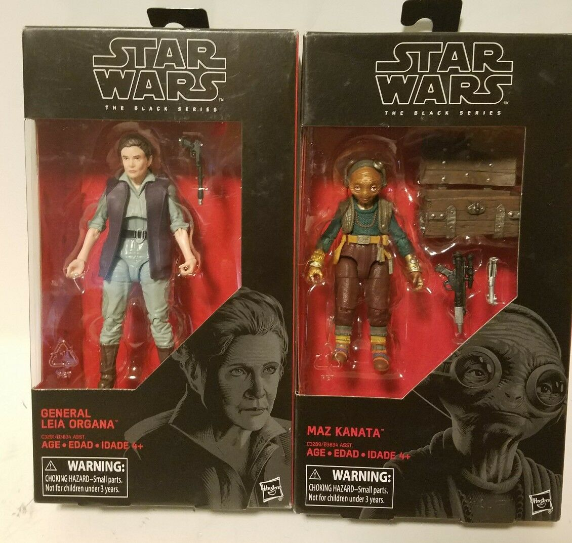 Star Wars Leia Organa & negro Series general Maz Kanata