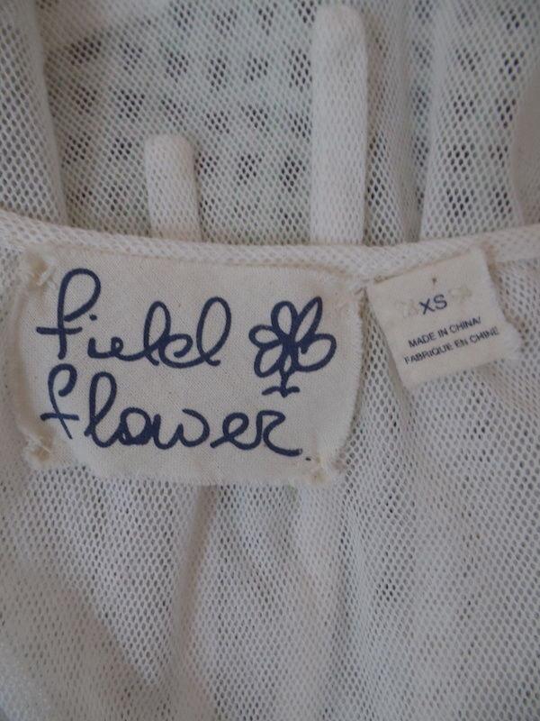 Field Flower Anthropologie Sweater Vest XS Mint G… - image 12