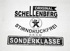 WW2 German Cap Hat & Box Makers Mark Rubber Stamp - Schellenberg WWII D.R.G.M