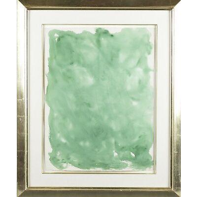 3. Beauford Delaney. Green watercolor. 1963. Lot 3