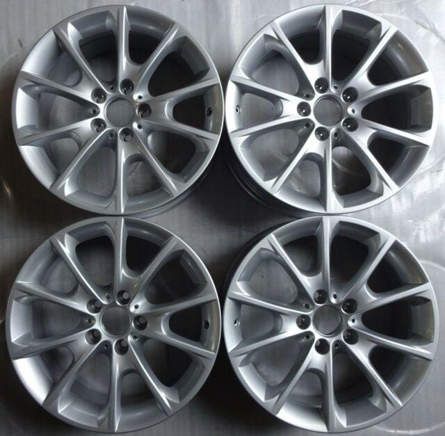 4 Genuine BMW Alloy Wheels Styling 398 8Jx18 ET34 6796250 3er F30 F31 4er F32 F36 FB16