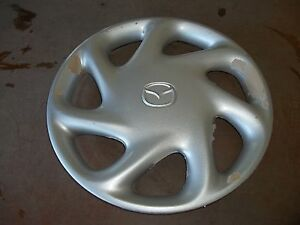 1998-98-99-00-01-02-Mazda-626-Hubcap-Rim-Wheel-Cover-Hub-Cap-14-034-OEM-USED-56536