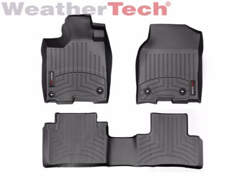 8-Way Power Seats Black - 2016-2018 WeatherTech FloorLiner Mats for Acura RDX