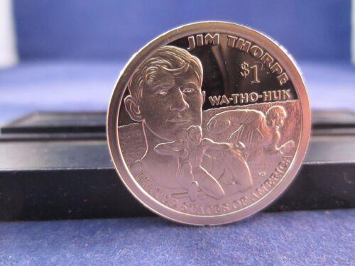 2018-S One MIRROR PROOF Dollar JIM THORPE WA THO HUK  Sacagawea $$ IN STOCK