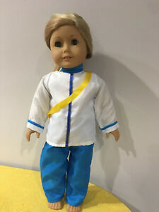 """Doll Top and Pants Fits 18/"""" American girl Boy Doll Clothes Prince Charming"""