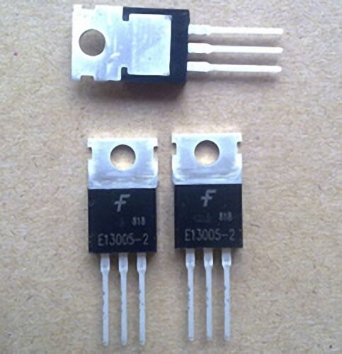 10 pcs E13005-2 FSC TO-220 AMP Output Transistor New Good Quality DORL/_A