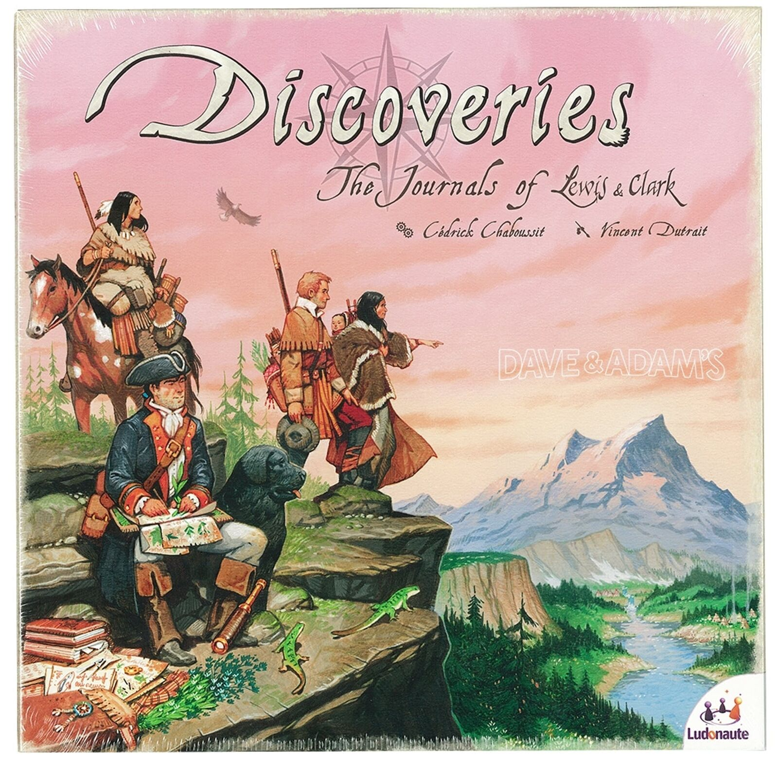 Discoveries The Journals of Lewis and Clark -new