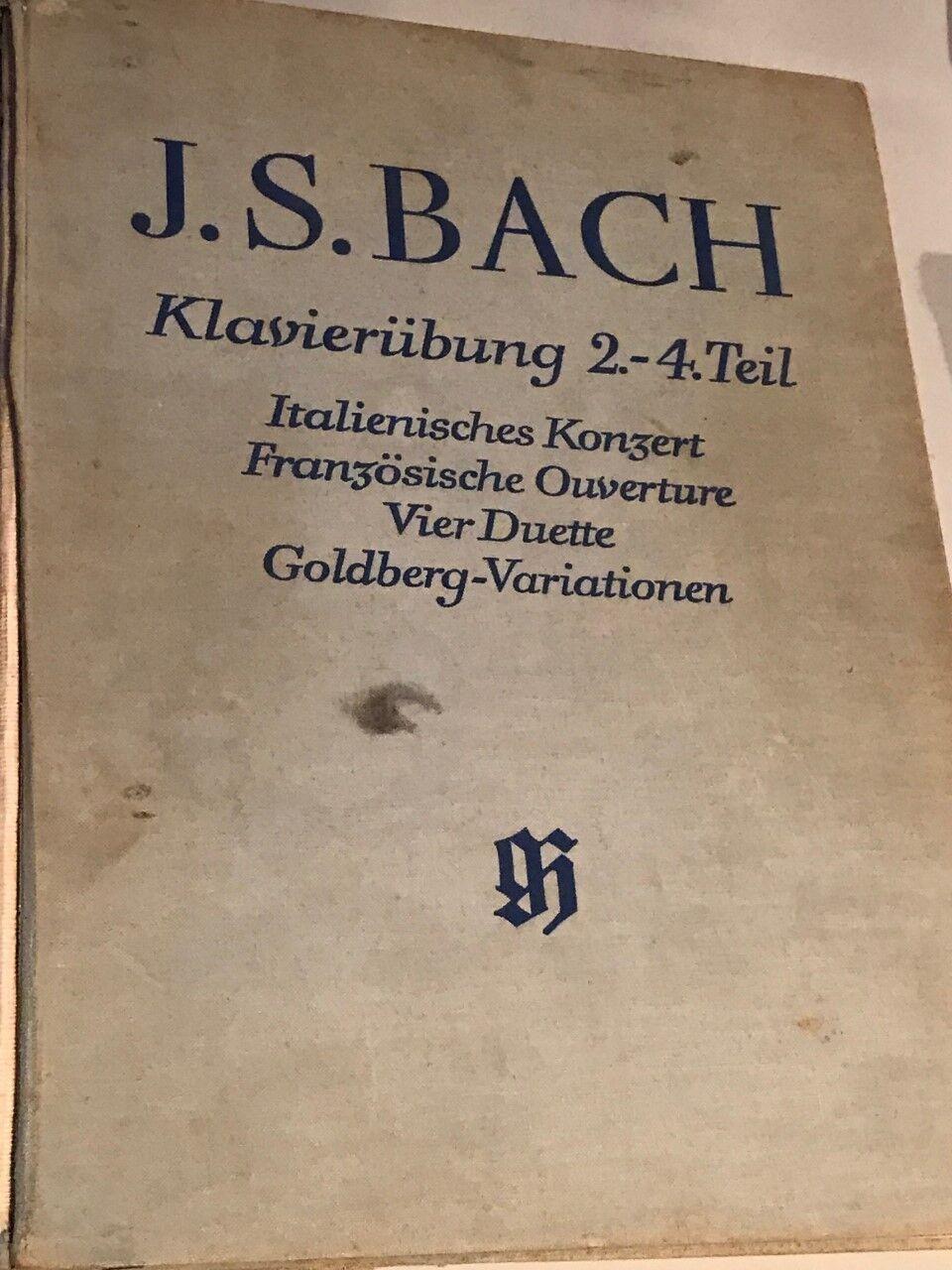 Sheet Music, Books J S Bach Das Wohltemperierte Klavier Teil II + klavieruburg