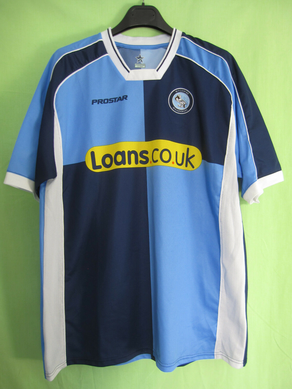 Maillot Wycombe Wanderers Fc Loans Vintage The Chairboys Jersey - XL