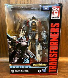 Blitzwing #65 Transformers Generations Studio Series Action Figure New NIB Movie