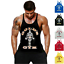 Golds-Gym-Vest-Mens-Muscle-Joe-Tank-Top-Fitness-Stringer-Bodybuilding-Muscle-Tee Indexbild 1