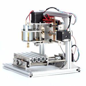 Details about 3 Axis DIY Mini Desktop CNC Mill USB Wood Router Engraver PCB  Milling Machine