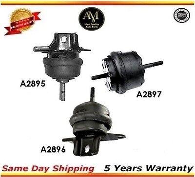 00-05 For Buick LeSabre Pontiac 3.8L Motor /& Trans Mount 2895 2896 2897 Set 3
