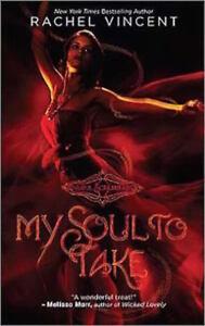 Complete-Set-Series-Lot-of-7-Soul-Screamers-books-by-Rachel-Vincent-Fantasy