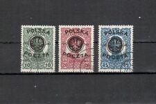 Polonia Michel numero 17 - 19 timbrato (Europa: 1335)