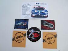 2015 SEMA Show Ford Racing Promo Collector GT Dash Plaque Set + Cobra Jet Decal