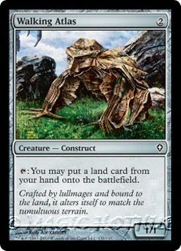 WALKING ATLAS Worldwake MTG Artifact Creature — Construct Com