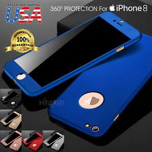 Original 360 Full Body Slim Hard Protector Skin Case Cover Fits APPLE iPhone