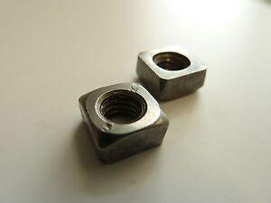Vierkantmutter DIN 557 5 Stahl galvanisch verzinkt M 8-100 St/ück