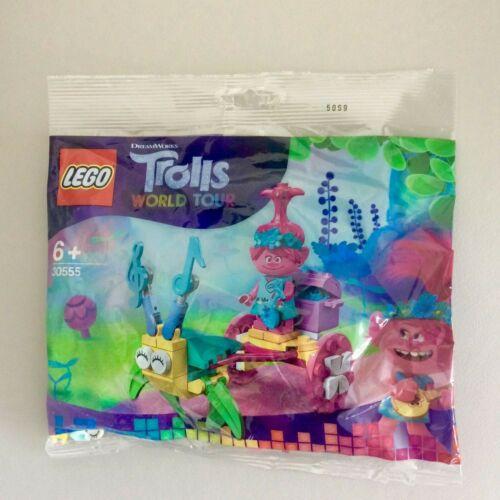 LEGO Trolls World Tour Poppys Carriage Polybag Set BRAND NEW