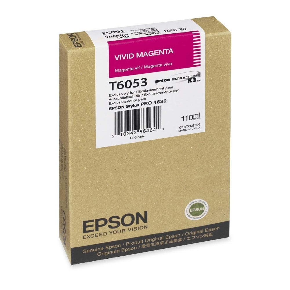 Echt Epson Stylus Pro Pro Pro T605B magenta Tintenpatrone (C13T605B00)   Kompletter Spezifikationsbereich  9c303a
