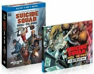 WARNER HOME VIDEO BR705893 DCU-SUICIDE SQUAD-HELL TO PAY