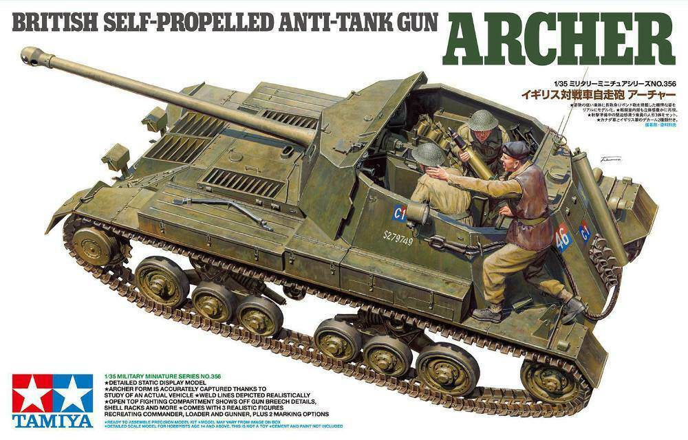 Tamiya Archer British Self-Propelled Anti-Tank gun